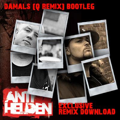 Damals Bootleg Cover